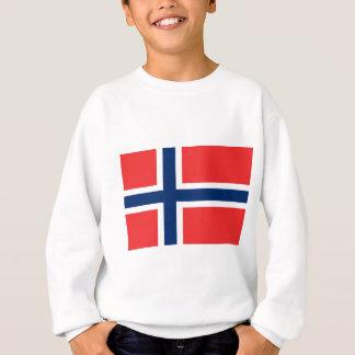 Agasalho Baixo custo! Bandeira de Noruega