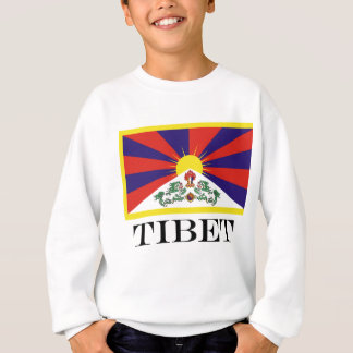 Agasalho Bandeira da bandeira do leão de Tibet ou de neve