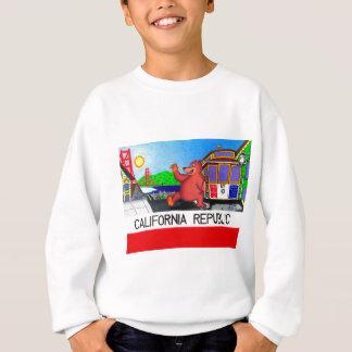 Agasalho Bandeira do urso de San Francisco Califórnia