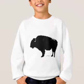 Agasalho Bisonte preto & branco do búfalo do pop art