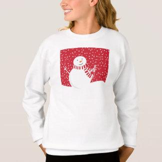 Agasalho boneco de neve contemporâneo moderno do inverno