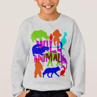 Agasalho Bonito brilhante colorido dos animais selvagens