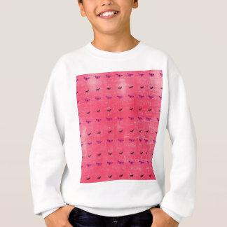Agasalho Borboleta rosado