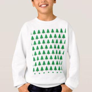 Agasalho branco novo do verde do design do Natal