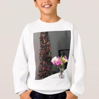 Agasalho Buquê da flor e árvore de Natal coloridos