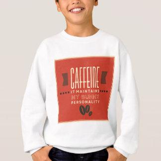 Agasalho Cafeína mantem minha personalidade ensolarada