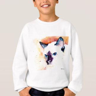 Agasalho Camisola da juventude do CAT SIAMESE