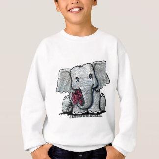 Agasalho Camisola da juventude do elefante de KiniArt
