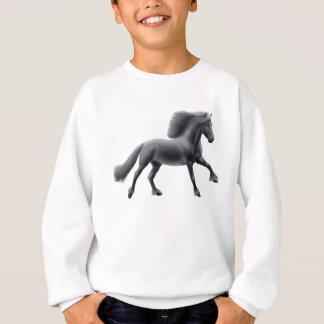 Agasalho Camisola de galope dos miúdos do cavalo do frisão