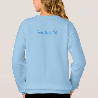 Agasalho camisola do azul das meninas