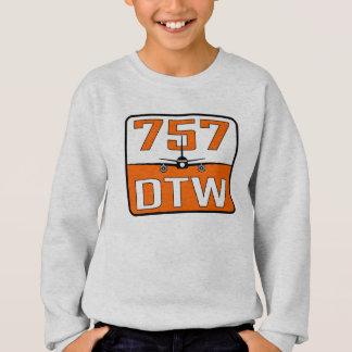 Agasalho Camisola do meio da juventude de 757 DTW