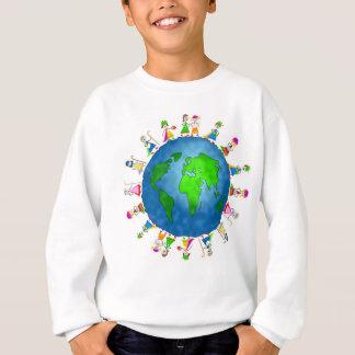 Agasalho Camisola do Natal em todo o mundo para miúdos