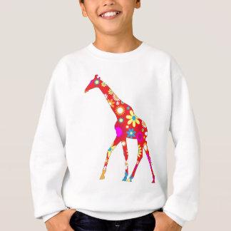 Agasalho Camisola floral retro Funky dos miúdos do girafa