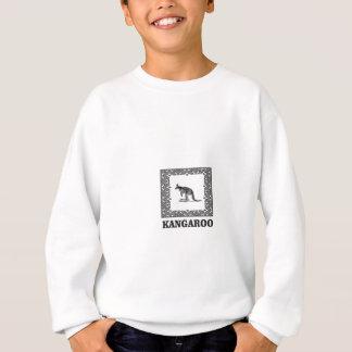 Agasalho canguru esquadrado