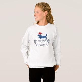 Agasalho Cão de Basset do Natal