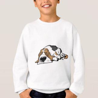 Agasalho Cão dos desenhos animados de Basset Hound