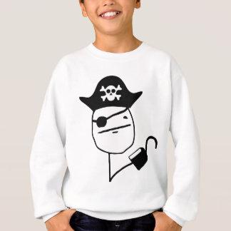Agasalho Cara de póquer do pirata - meme