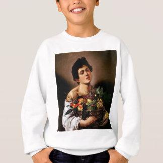 Agasalho Caravaggio - menino com uma cesta de trabalhos de