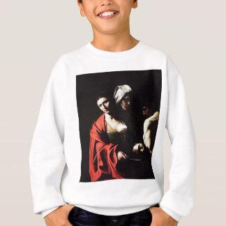 Agasalho Caravaggio - Salome - trabalhos de arte barrocos