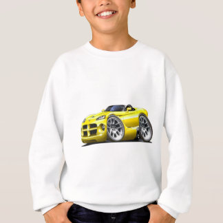 Agasalho Carro do amarelo do Roadster da víbora de Dodge