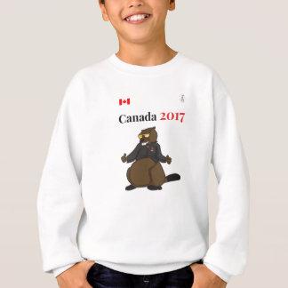 Agasalho Castor legal de Canadá 150 em 2017
