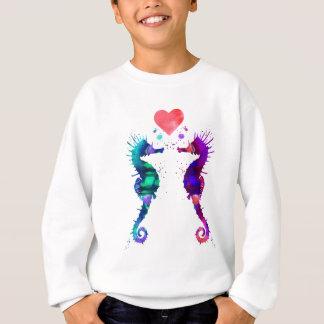 Agasalho Cavalo marinho, cavalo marinho no amor