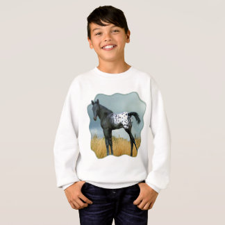 Agasalho Cavalo - o potro do Appaloosa caçoa a camisola