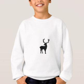 Agasalho Cervos preto e branco