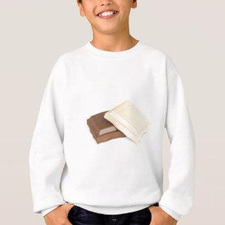 Agasalho Chocolate branco e marrom