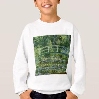Agasalho Claude Monet - ponte japonesa