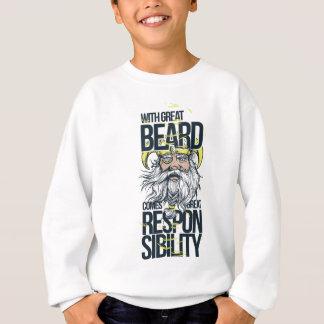 Agasalho com grande barba vem a grande responsabilidade