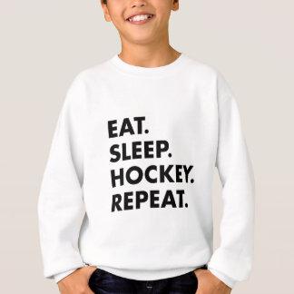 Agasalho Coma a repetição do hóquei do sono