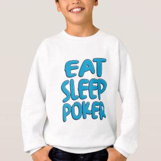 Agasalho Coma o póquer do sono