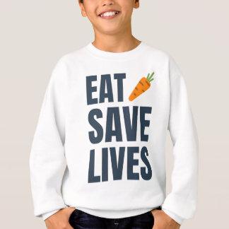 Agasalho Coma o Vegan - vidas das economias
