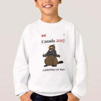 Agasalho Comemoração legal de Canadá 150 em 2017