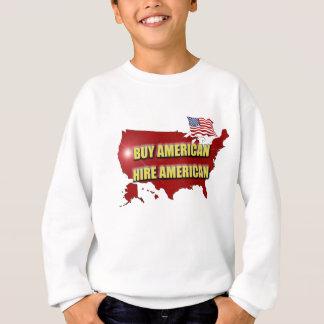Agasalho Compre América!  Contrate América!
