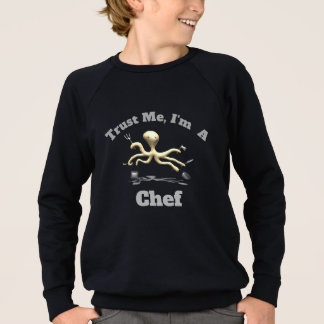 Agasalho Confie-me, mim são um cozinheiro chefe