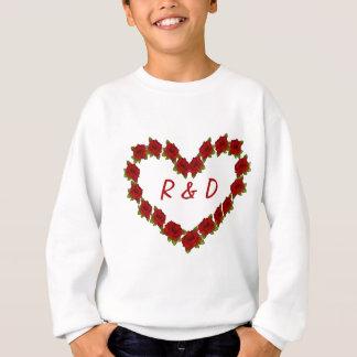 Agasalho Coração dos rosas
