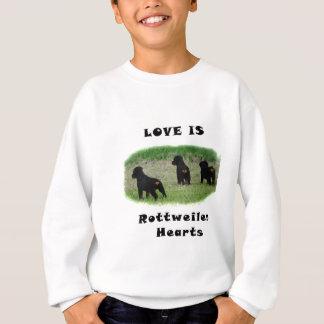 Agasalho Corações de Rottweiler