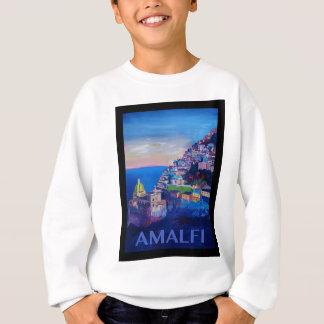 Agasalho Costa retro Italia de Amalfi do poster