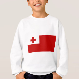 Agasalho Cruz vermelha da bandeira da ilha de Tonga