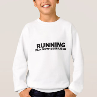 Agasalho Da dor cerveja Running T-Shirts.png mais atrasado