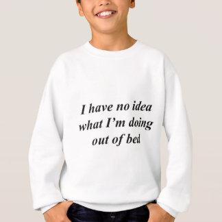 """Agasalho De """"camisas ENGRAÇADAS nenhuma ideia"""", acessórios,"""