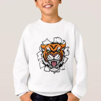 Agasalho Descoberta irritada do fundo do tigre
