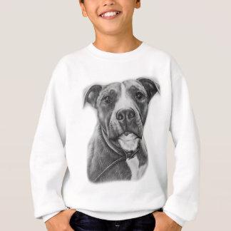 Agasalho Desenho da arte do animal do cão do pitbull