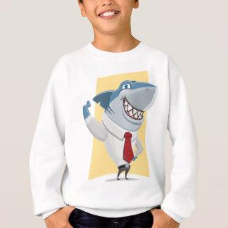 Agasalho desenhos animados do tubarão