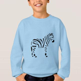 Agasalho Desenhos animados dos animais das zebras da zebra