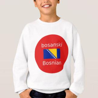 Agasalho Design bosniano da língua