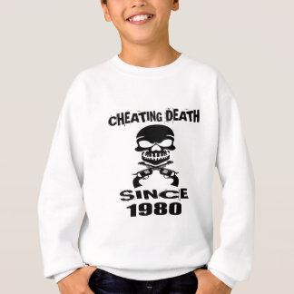 Agasalho Design de engano do aniversário da morte desde