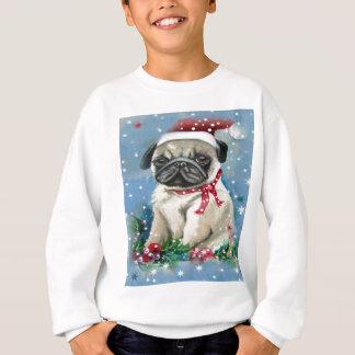 Agasalho Design do cão do Pug do feriado